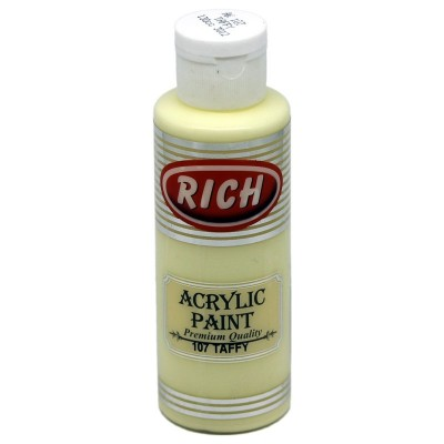 R-107 Ακρυλικό Χρώμα Taffy-Καραμέλα 130ml Rich