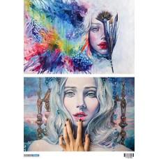 ΡΙΖΟΧΑΡΤΟ  Art paint  1100284