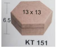 KOYTI  ΕΞΑΓΩΝΟ MDF BK-KT151