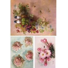 Vintage birds & flowers 1900101