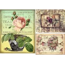 Vintage birds & flowers 1900103