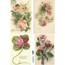 Vintage birds and flowers 1900122