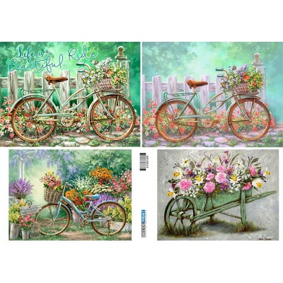 Bicycle - Flowers 2100189