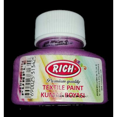 Textil Paint Rich Λιλά 45ml T-3134