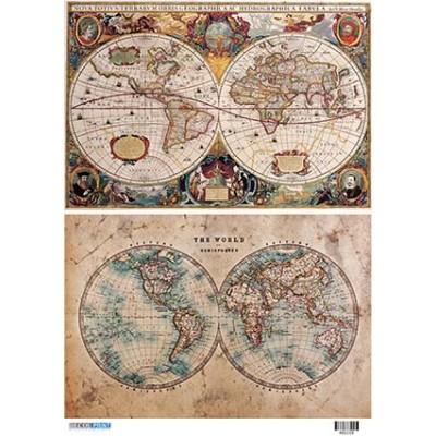 Vintage maps 400150