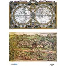 Vintage maps 400152