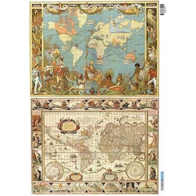 Vintage maps 400153