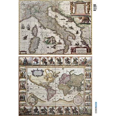 Vintage maps 400165