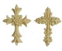 Διακοσμητικό Ελαστικής Ρητίνης Σταυροί 2τεμ. (5Χ3εκ.) EPR-405