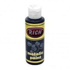 Rich Metallic Paint Black 130ml R-770