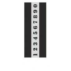 Stencil Αυτοκόλλητο B004