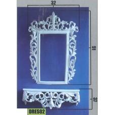 Έπιπλο τοίχου-καθρέπτης PS-DRES02