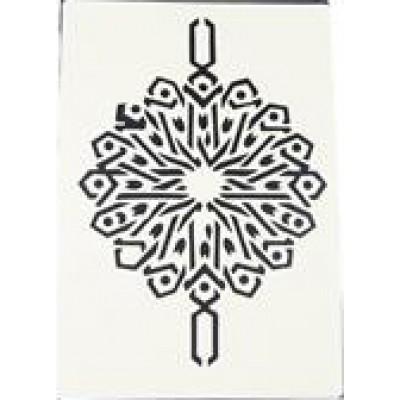 Decouprint Στένσιλ Α4 Damask2 N106