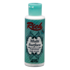 Multi surface paint Rich 130 ml 2100 Λευκό