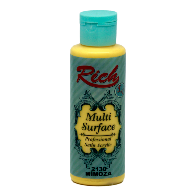 Multi surface paint Rich 130 ml 2130 Mimosa