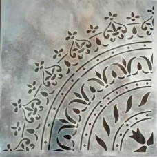 Stencil Αυτοκόλλητο Η001