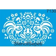 Stencil Πετεινοί 20X30cm SS-7130