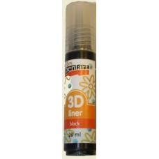 3D Liner Black 20ml