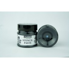 Stencil Paste Pearl Pentart 50ml – Black diamond