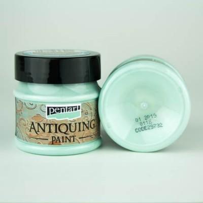 Antiquing Paint Pentart 50ml – Patina Blue