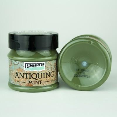 Antiquing Paint Pentart 50ml – Cream Green