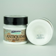Antiquing Paint Pentart 50ml – White