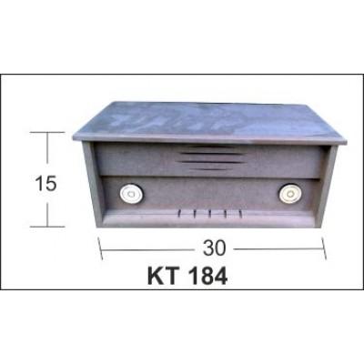 ΚΟΥΤΙ RADIO MDF BK-KT184