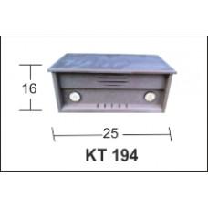 ΚΟΥΤΙ RADIO MDF BK-KT194