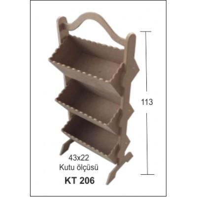 ΡΑΦΙΕΡΑ BK-KT206 113Χ43Χ22Χεκ.