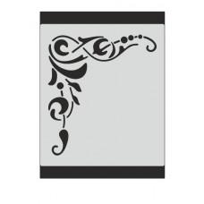 Stencil Αυτοκόλλητο M078