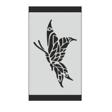 Stencil Αυτοκόλλητο S003