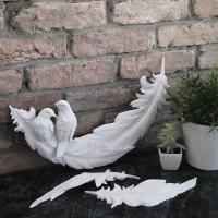 Φτερό με Πουλιά και 2 φτερά
