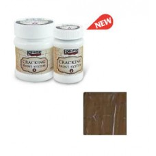 Cracking Paint System Step 2, Pentart 100ml , Brown