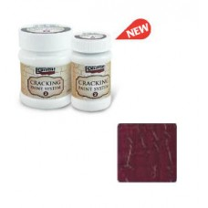 Cracking Paint System Step 2, Pentart 100ml , Burgundy red