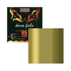 Μεταλλικό Φύλλα Metallic Gold Pentart, 5τεμ