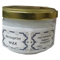Κερί παλαίωσης wax διάφανο 140ml