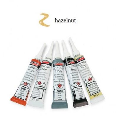 Contour Liner Pentart 20ml – Hazelnut