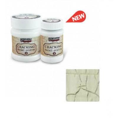Cracking Paint System Step 2, Pentart 100ml , Ivory