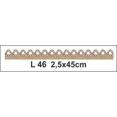Ξύλινο διακοσμητικό 2 τεμ. BK-L46