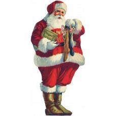 Santa Claus 12cm σε MDF