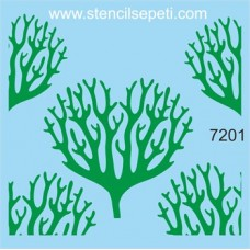 Stencil Κλαδιά δέντρου 20Χ20cm SS-7201
