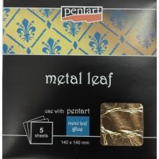 Μεταλλικά Φύλλα Pentart – Gold
