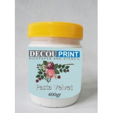decouprint Velvet Πάστα απαλή για σχέδια με εργαλεία 200ml P-103