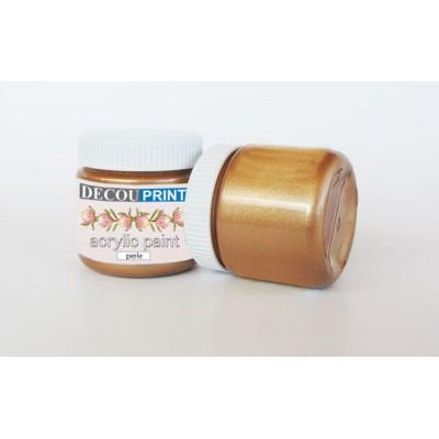Ακρυλικό Χρώμα Περλέ Honey 75ml C-P106