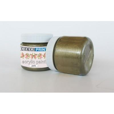 Ακρυλικό Χρώμα Περλέ Οξείδωση χαλκού 75ml C-P107