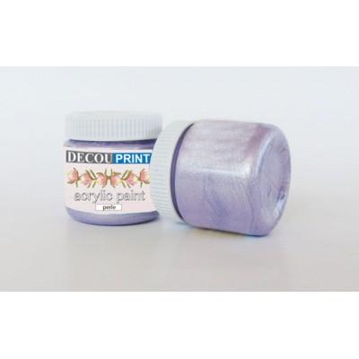 Ακρυλικό Χρώμα Περλέ Violet 75ml C-P105