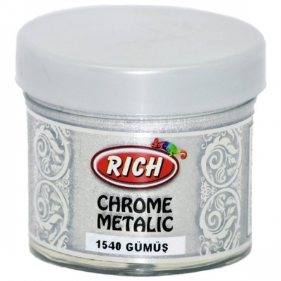 Chrome Metallic 50ml Ασήμι 1540
