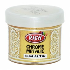 Chrome Metallic 50ml Χρυσό 1544