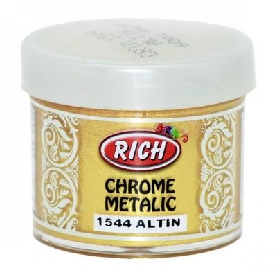 Chrome Metallic 50ml Χρυσό 1544