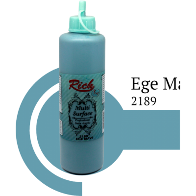 Multi surface paint Rich 130 ml 2189 Baby Blue